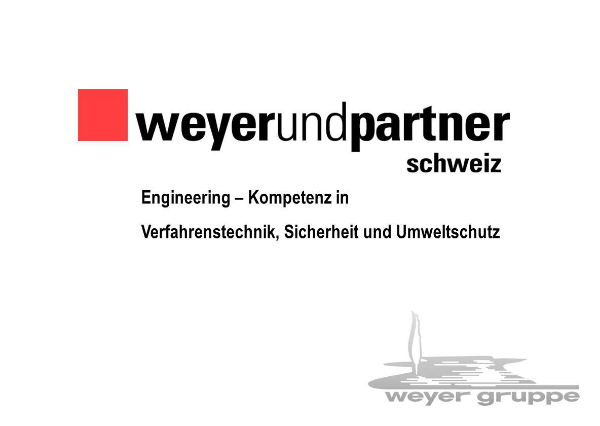 Weyer-Gruppe 1 Engineering – Kompetenz in Verfahrenstechnik, Sicherheit und Umweltschutz