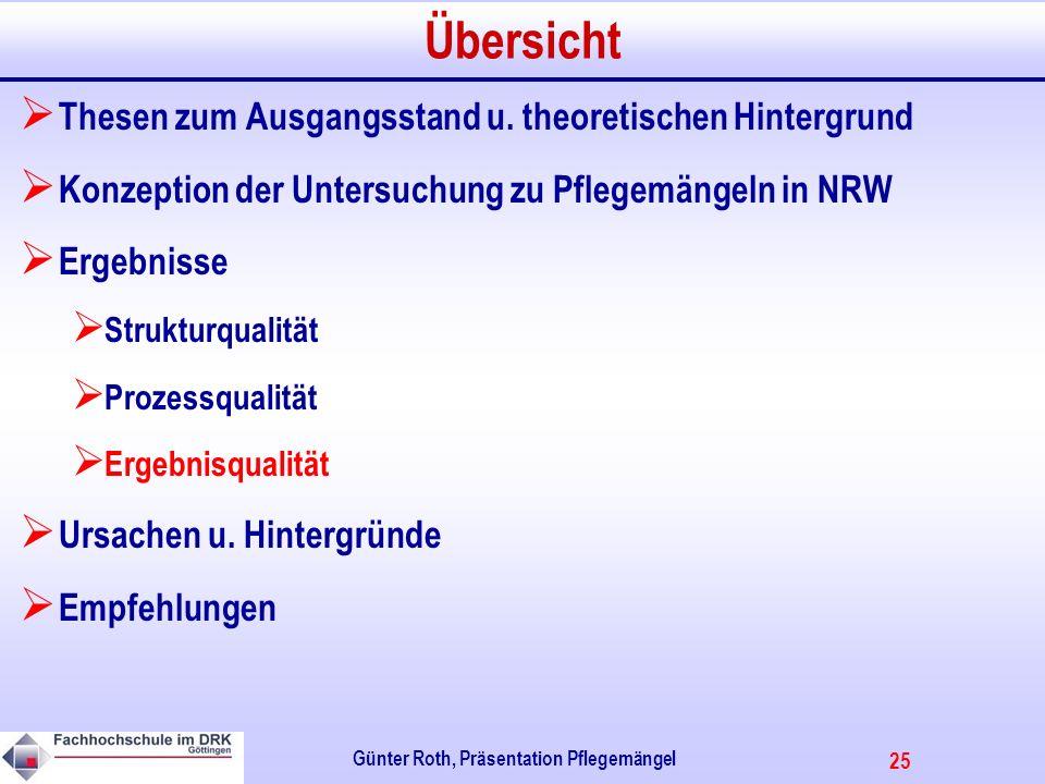 25 Günter Roth, Präsentation Pflegemängel Übersicht Thesen zum Ausgangsstand u.