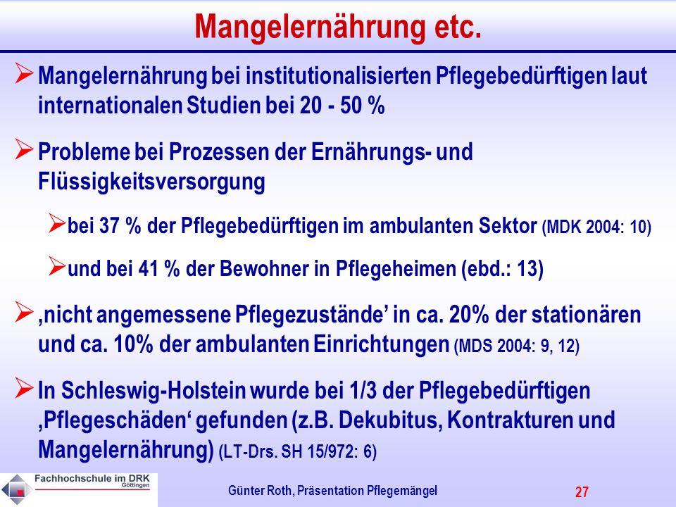 27 Günter Roth, Präsentation Pflegemängel Mangelernährung etc.