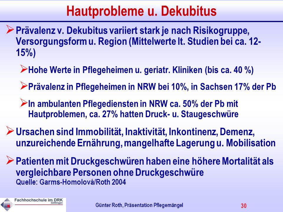 30 Günter Roth, Präsentation Pflegemängel Hautprobleme u.