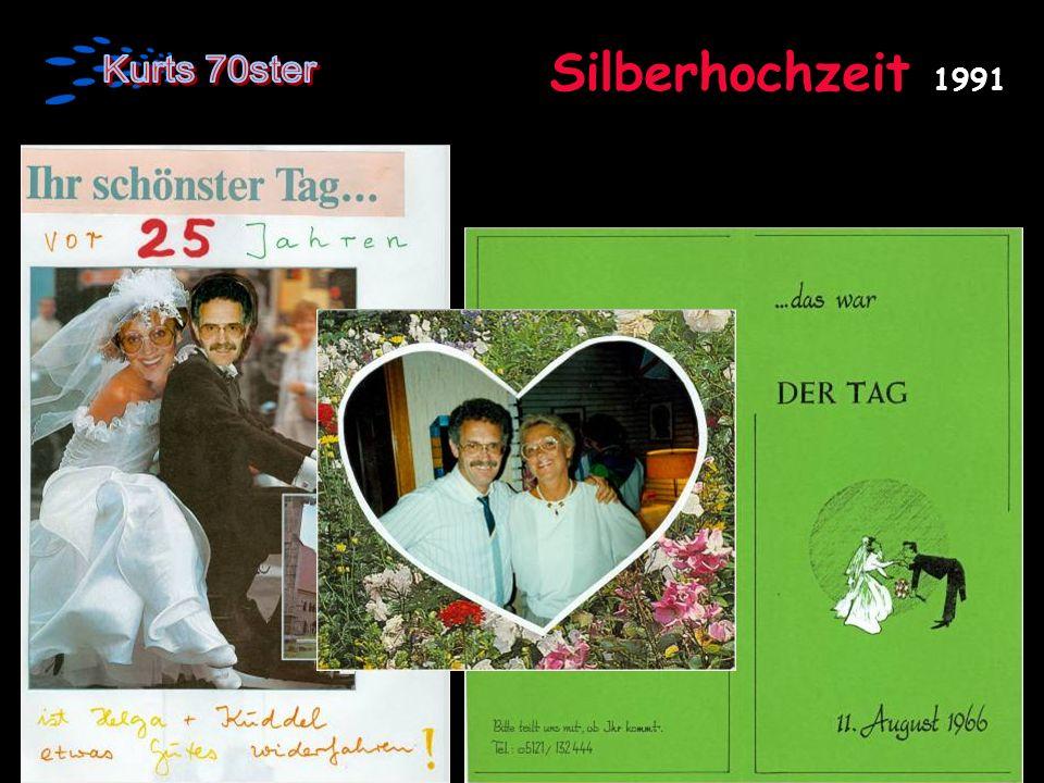 Silberhochzeit 1991