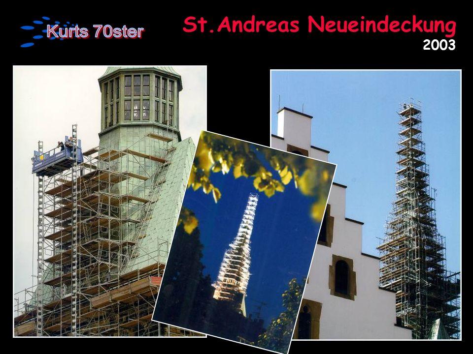 St.Andreas Neueindeckung 2003