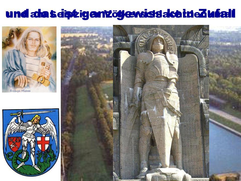 und so finden wir ihn auch im Wappen der Stadt Zeitz und am Leipziger Völkerschlachtdenkmal und das ist ganz gewiss kein Zufall