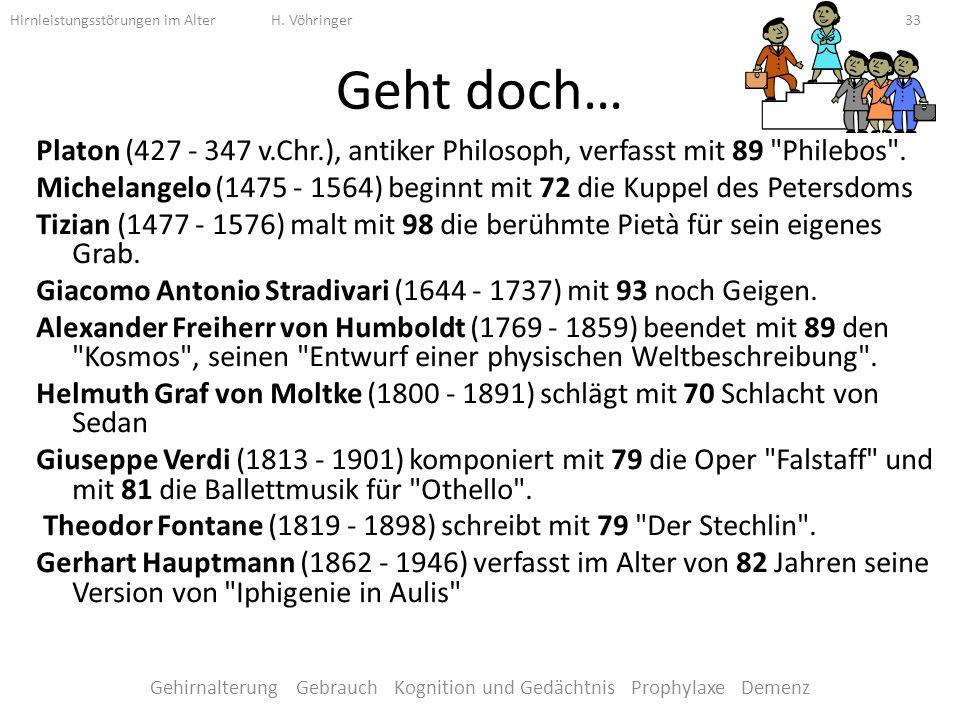 Geht doch… Platon (427 - 347 v.Chr.), antiker Philosoph, verfasst mit 89 Philebos .