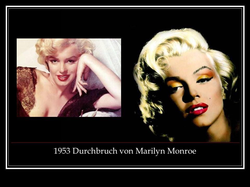 1953 Durchbruch von Marilyn Monroe