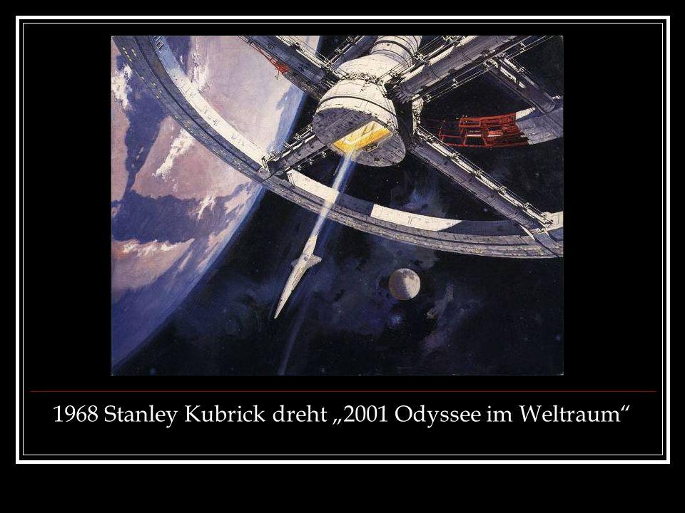 1968 Stanley Kubrick dreht 2001 Odyssee im Weltraum