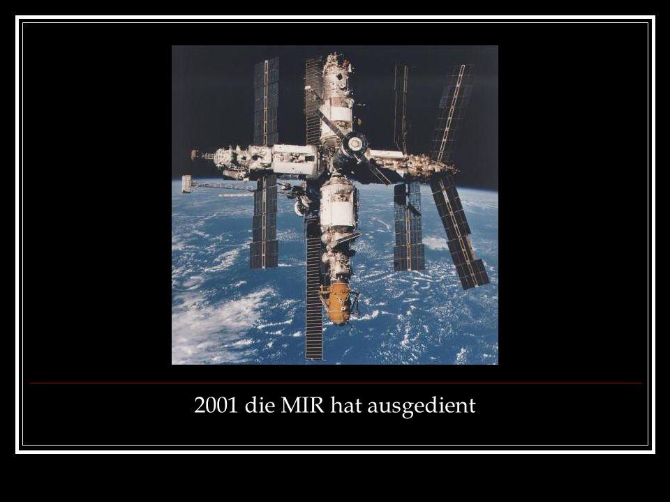 2001 die MIR hat ausgedient