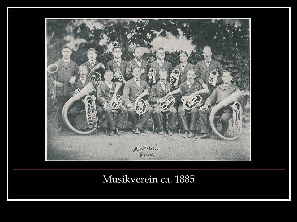 Musikverein ca. 1885