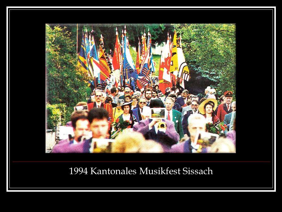 1994 Kantonales Musikfest Sissach