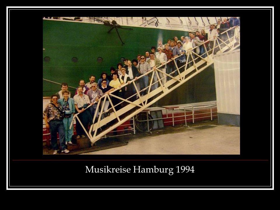Musikreise Hamburg 1994