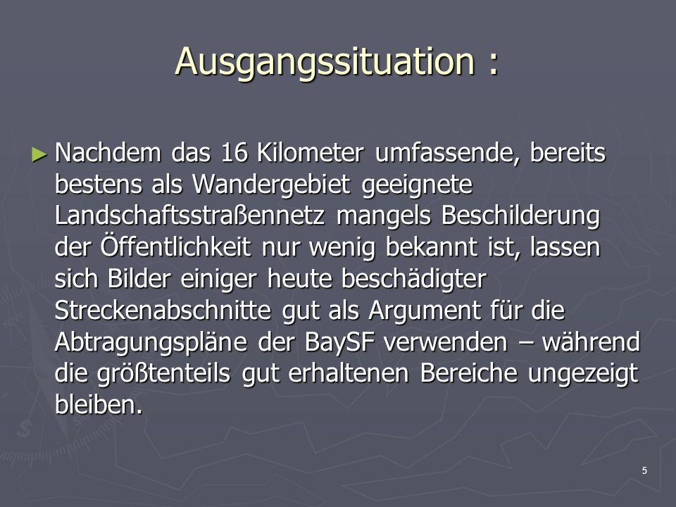 6 Meinungen zur Abtragung der historischen Straßenbauten: Teils Empörung in der Bevölkerung Teils Empörung in der Bevölkerung Das Obersalzberg Institut e.V.