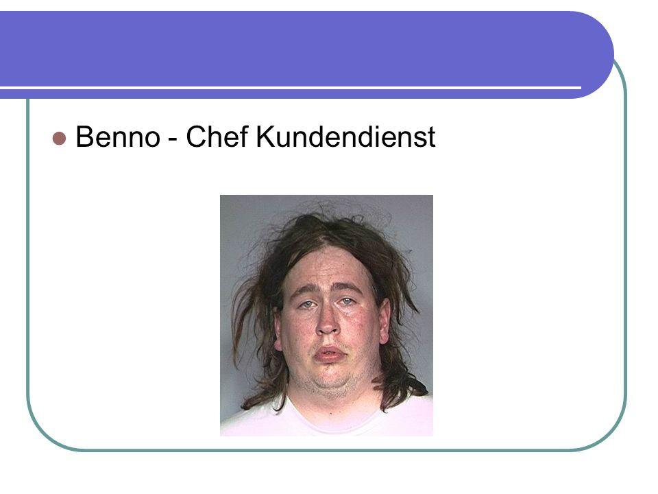 Benno - Chef Kundendienst