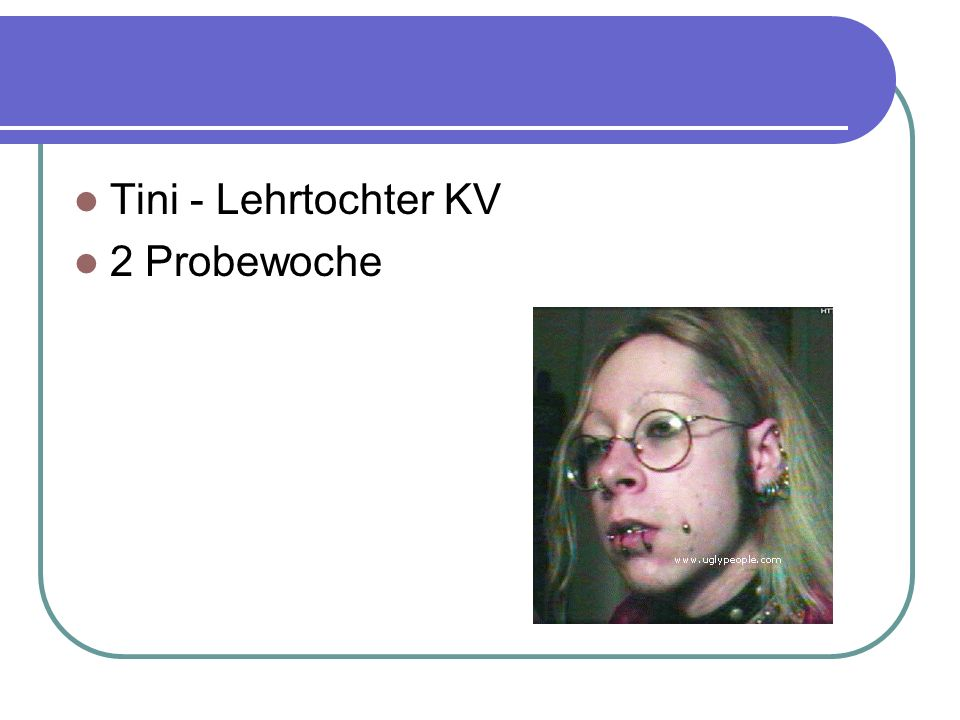 Tini - Lehrtochter KV 2 Probewoche