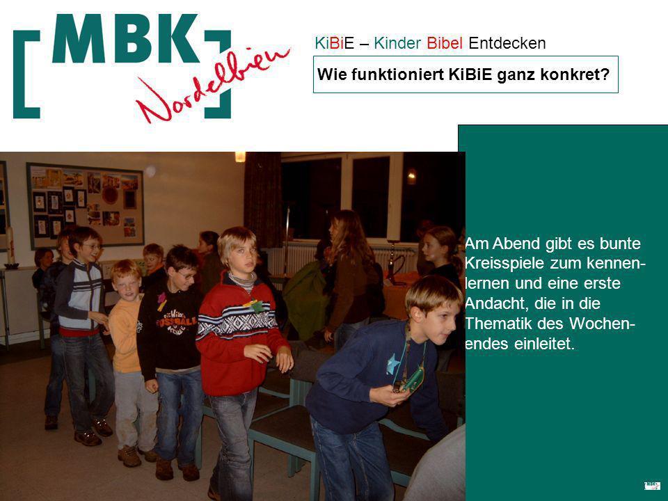 KiBiE – Kinder Bibel Entdecken Wie funktioniert KiBiE ganz konkret.