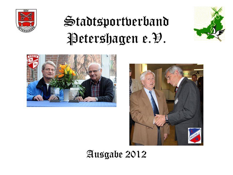 Mitgliederzahlen 2008 - 2012 10 lt.LSB-Meldung per.01.01.eines Jahres Verein20082009201020112012 SVGIIvese/Heimsen928390 86 Sch.V.Ilse 96 Sch.CL.96 81 8785 Sch.V.Jössen85 8783 TV.Tennisclub Frille75 958977 Segler-Vereinigung Heimsen7569686975 Sch.V.Wietersheim Sichere Schützen 9184827874 RV.Ovenstädt159102107 71 Sch.V.Neuenenknick/Depenbrock7069676665 RV.Minden-Lübbecke7160616065 FCSüdfelde53565059 Sch VDöhren Eiche 585755 56 Kanu-Klub Petershagen6766656156 Wasserskiclub Aqua Fun3540424854 VOVINAM VIET VO DAO6264454749 Karate Dan Tien Lahde655762 44 KSV Kenterpreis Windheim e.V.40 45 28 VC Friedewalde e.V2425 2627 Volkstanzgruppe Eldagsen21 1251712489124971224211875