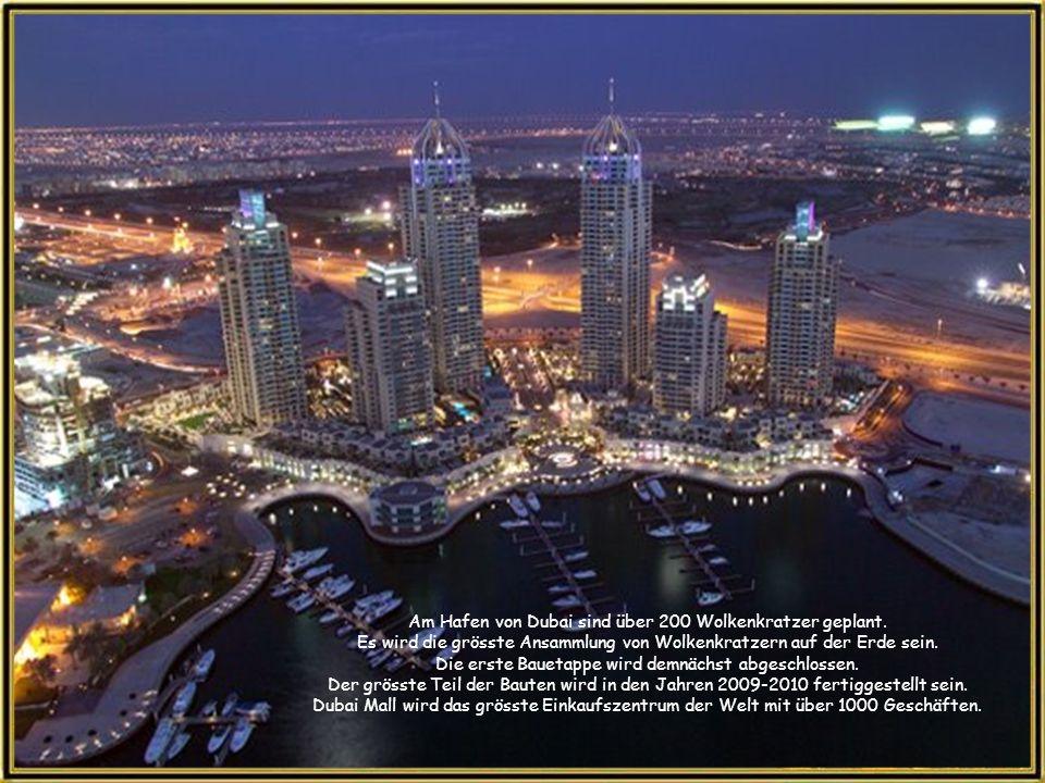 The Trump International Hotel & Tower wird das Zentrum einer der drei Palm-insel-gruppen, der Palme Jumeirah.