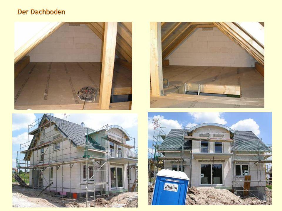 Da wir leider kein Richtfest beim aufstellen des Daches feiern konnten, haben wir dies beim Dachdecken nachgeholt