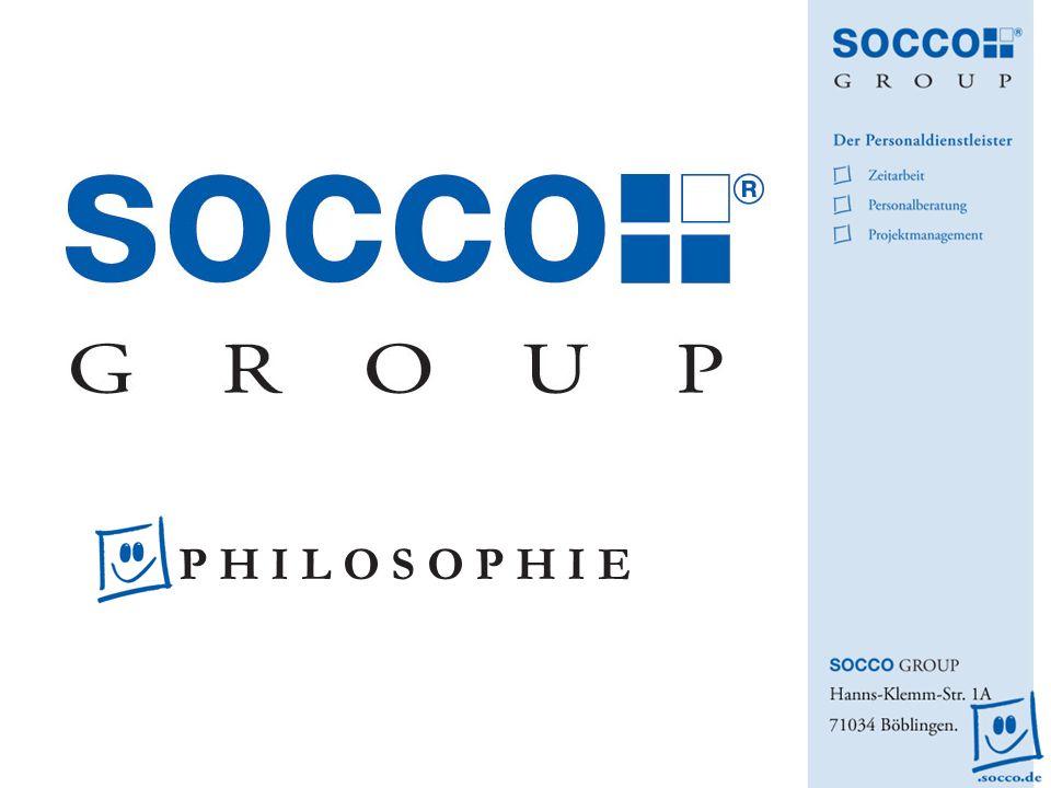 Das SOCCO Leitmotiv Erst die Arbeit – und das mit Vergnügen.