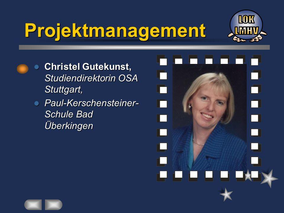 Christel Gutekunst, Studiendirektorin OSA Stuttgart, Christel Gutekunst, Studiendirektorin OSA Stuttgart, Paul-Kerschensteiner- Schule Bad Überkingen