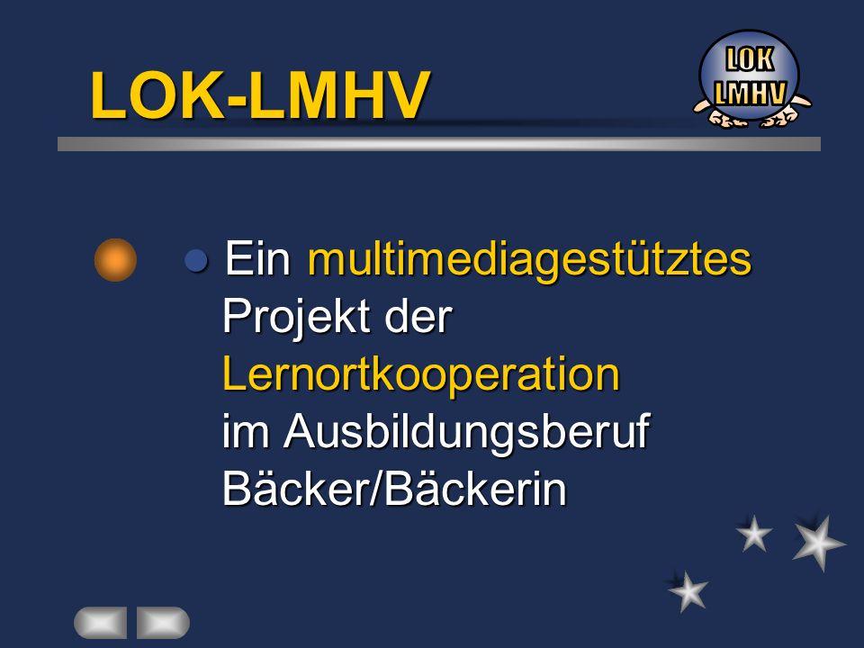 Ein multimediagestütztes Ein multimediagestütztes Projekt der Projekt der Lernortkooperation Lernortkooperation im Ausbildungsberuf im Ausbildungsberu