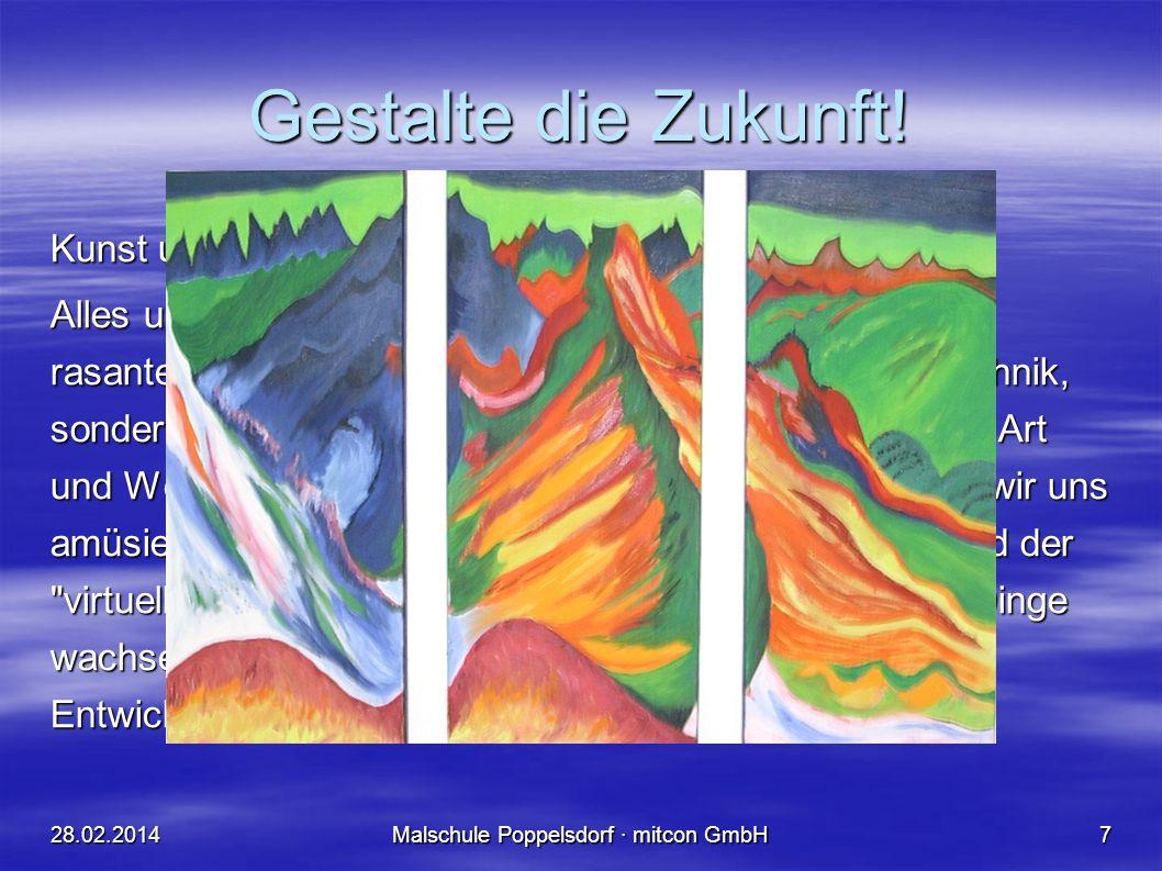 28.02.2014Malschule Poppelsdorf · mitcon GmbH6 Konrad Zuse alias Kuno See: Rechnender Raum Konrad Zuse alias Kuno See : ohne Titel (1976)