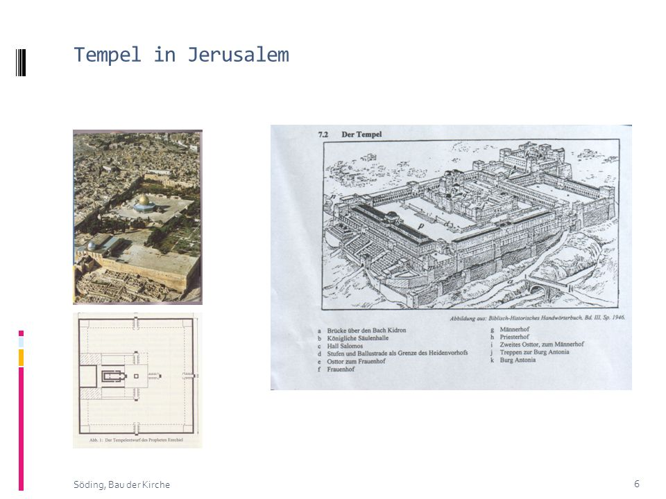 Tempel in Jerusalem 6 Söding, Bau der Kirche