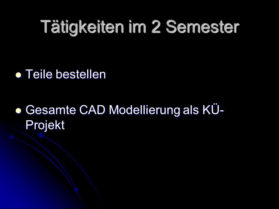 Tätigkeiten im Schuljahr 2009/10 Zusammenbau beider Module Zusammenbau beider Module Programmierung und Fehlersuche Programmierung und Fehlersuche Dokumentation Dokumentation