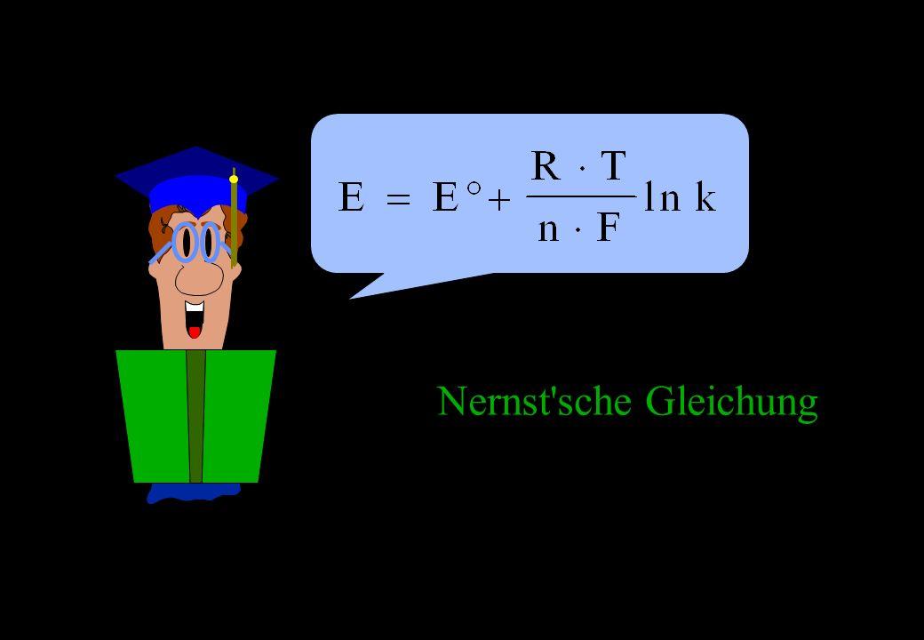 Nernst'sche Gleichung