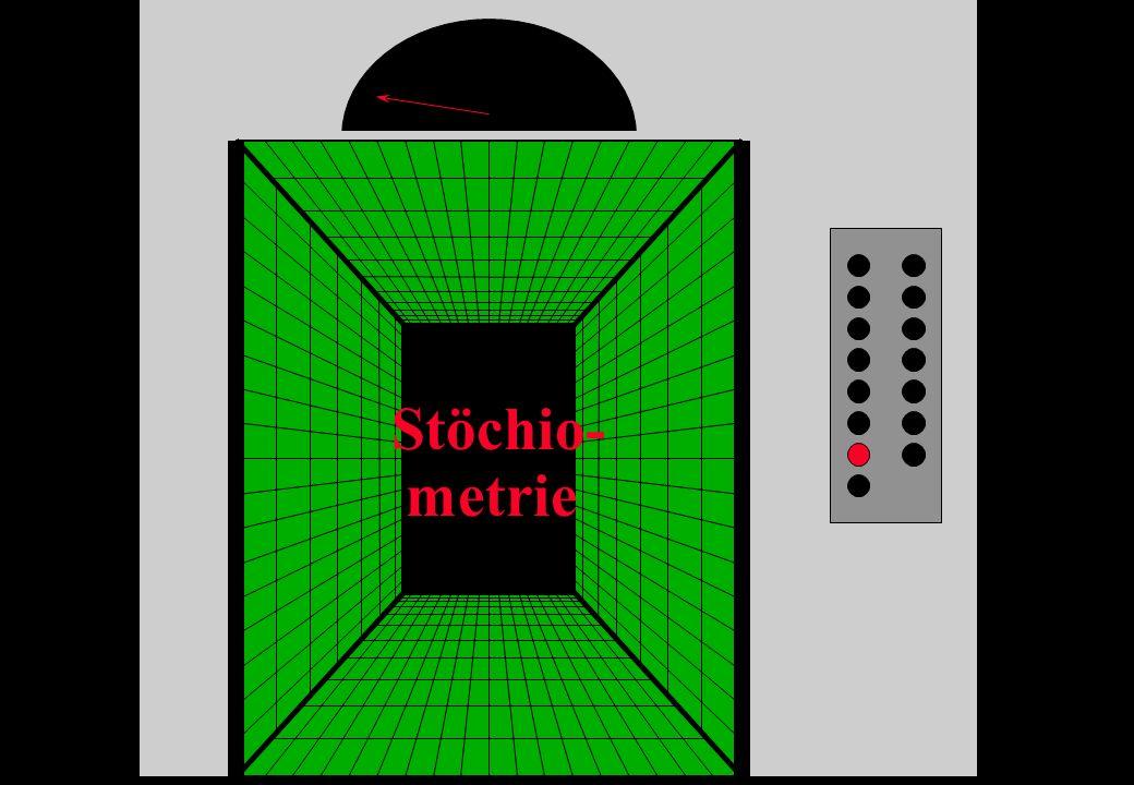 Stöchio- metrie