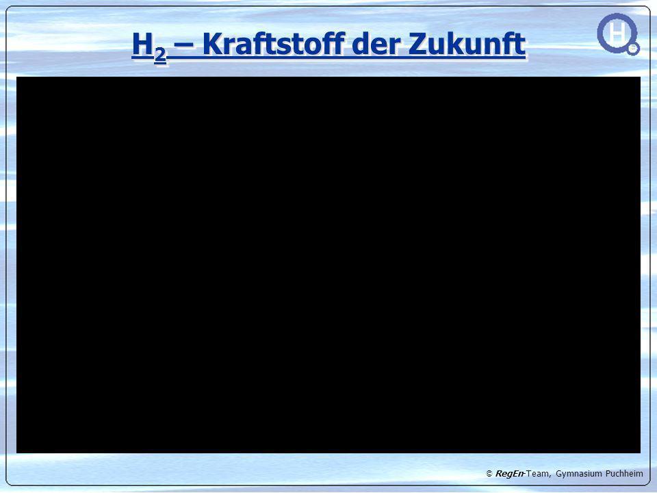 © RegEn-Team, Gymnasium Puchheim Unser Speichersystem + H2-dichte Verbindung 300 ml Tank (bis 120bar)