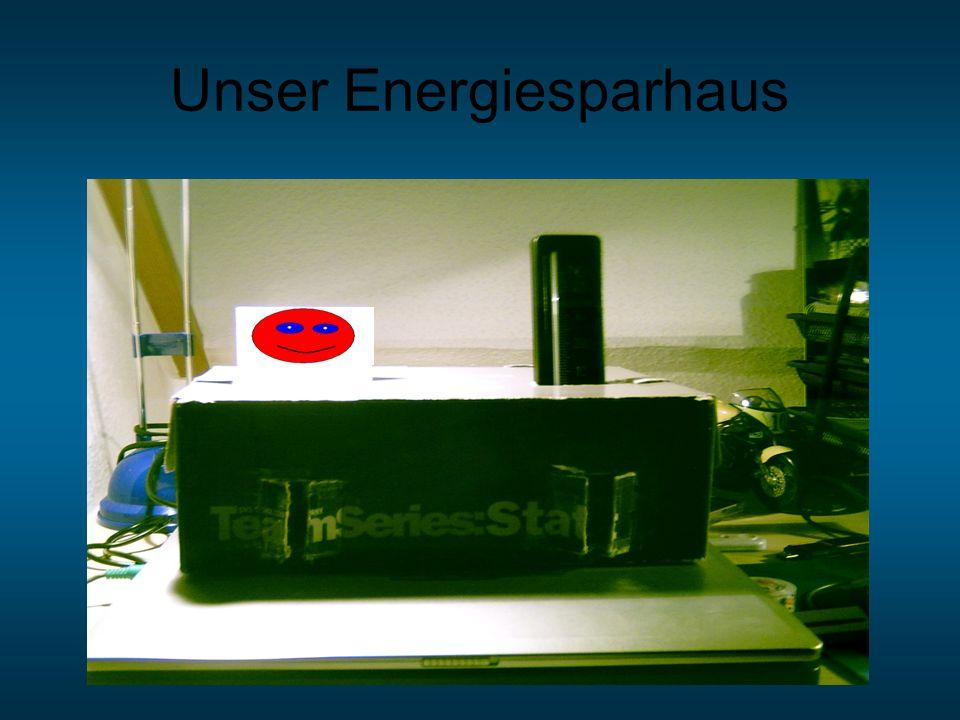 Unser Energiesparhaus