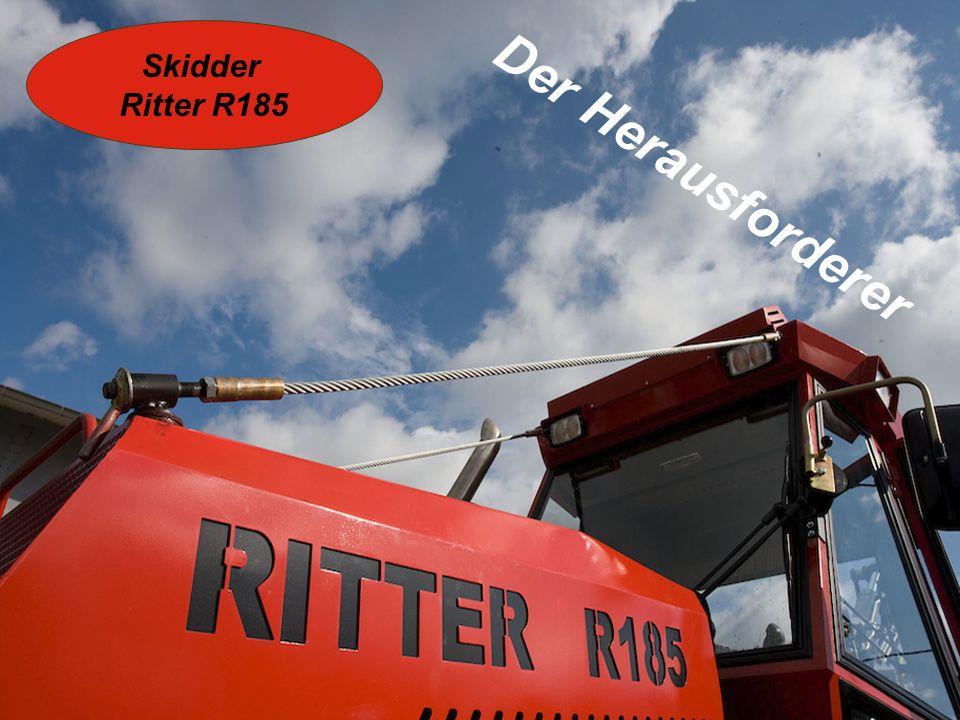 Kranaufbau: Denn nur so gehts aufwärts… RITTER Rückekran RK 4.62 Reichweite 6,2m, Getriebe-Schwenkwerk, 36 kNm Schwenkmoment Brutto-Hubmoment 113 kNm, Kransteuerblock 6-fach proportional Joysticks mit 6 Prop.-Achsen und je 4 Tasten, komplett montiert, hydraulisch und elektrisch, RITTER Greifer, max.