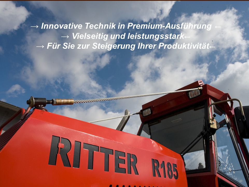 Innovative Technik in Premium-Ausführung Vielseitig und leistungsstark Für Sie zur Steigerung Ihrer Produktivität