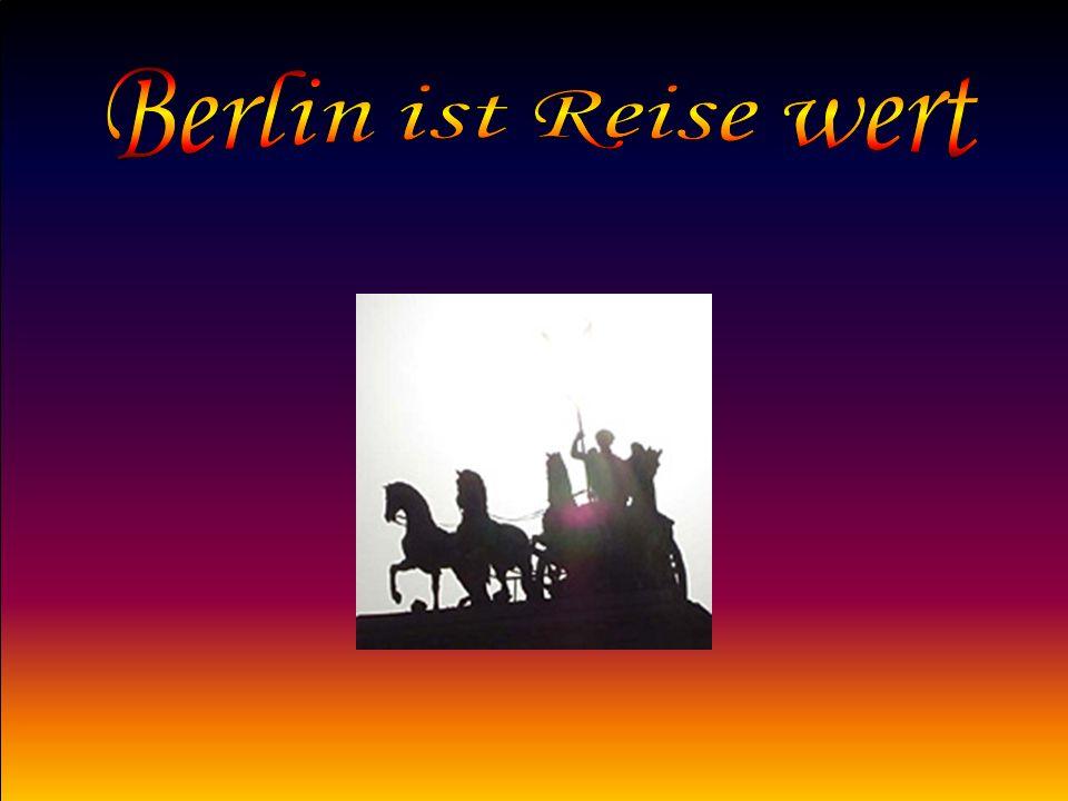 Berlin hat unzählige berühmte Sehenswürdigkeiten.