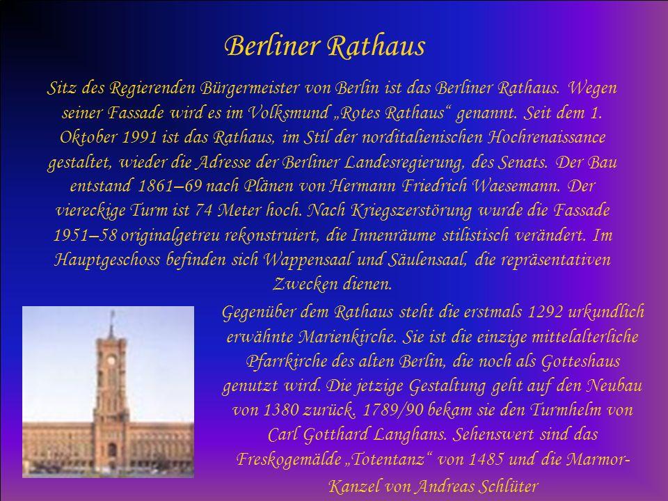 Brandenburger Tor Über 200 Jahre alt ist Berlins berühmtestes Wahrzeichen: das Brandenburger Tor.