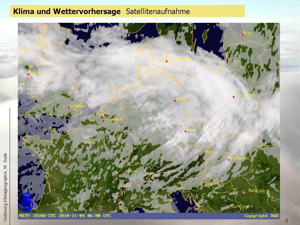 6 Klima und Wettervorhersage Wetterkarte Aktuelles Satellitenbild
