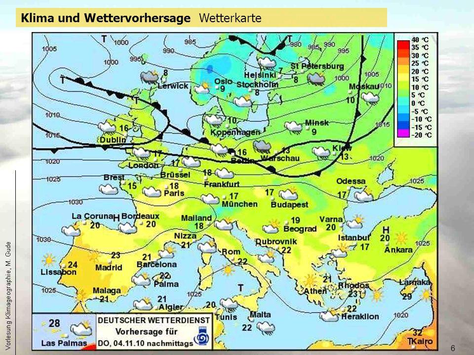 7 Das terrestrische Klima ist die für einen Standort, eine definierbare Region oder ggf.