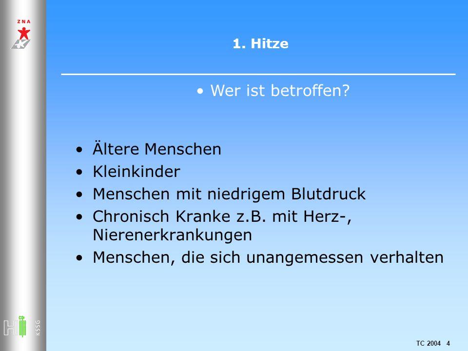 TC 2004 75 3.Sonnenstrahlen und Haut Wie sollen Kinder geschützt werden.
