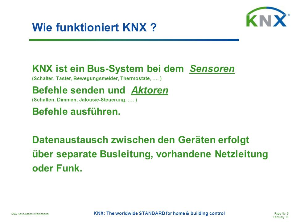 KNX Association International Page No.