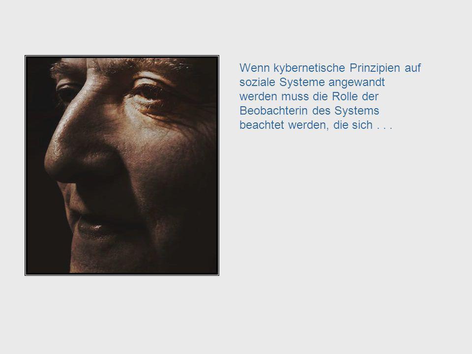 Während die Kybernetik erster Ordnung auf die Kontrolle von Systemen ausgerichtet ist, geht es in der Kybernetik zweiter Ordnung um autonome Systeme.