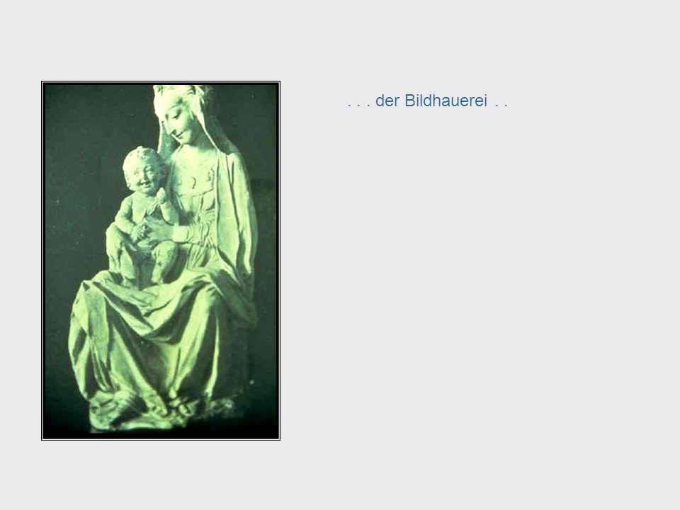 ... der Bildhauerei.. Da Vinci, cont. – Sculpture