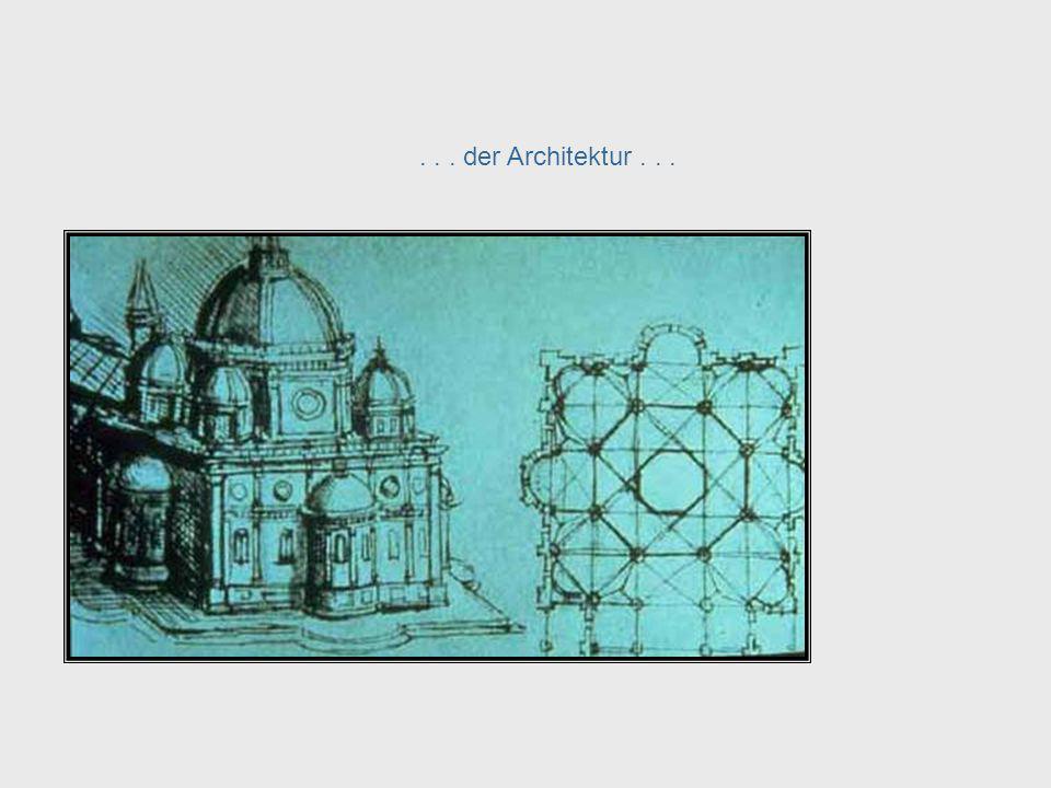 ... der Architektur... Da Vinci, cont. – Architecture