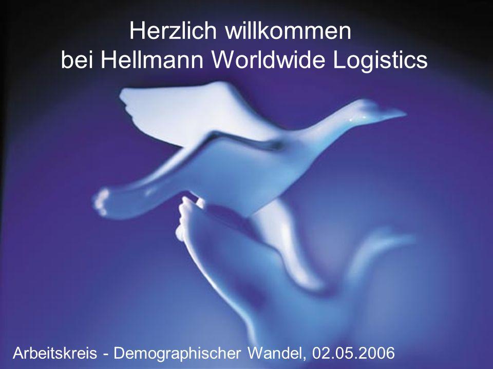 Herzlich willkommen bei Hellmann Worldwide Logistics Arbeitskreis - Demographischer Wandel, 02.05.2006