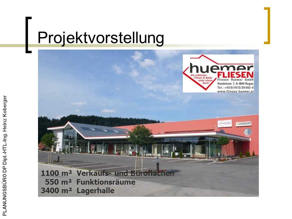 Projektvorstellung PLANUNGSBÜRO DP Dipl.-HTL-Ing.