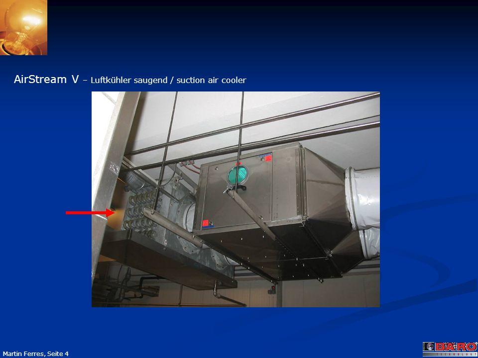 Seite 15 Martin Ferres, Seite 15 AirTube C Die günstigere Alternative zum AirStream C Gerät in kleinen und großen Räumen ohne eigene Ventilationstechnik.
