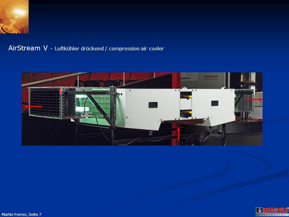 Seite 7 Martin Ferres, Seite 7 AirStream V – Luftkühler drückend / compression air cooler