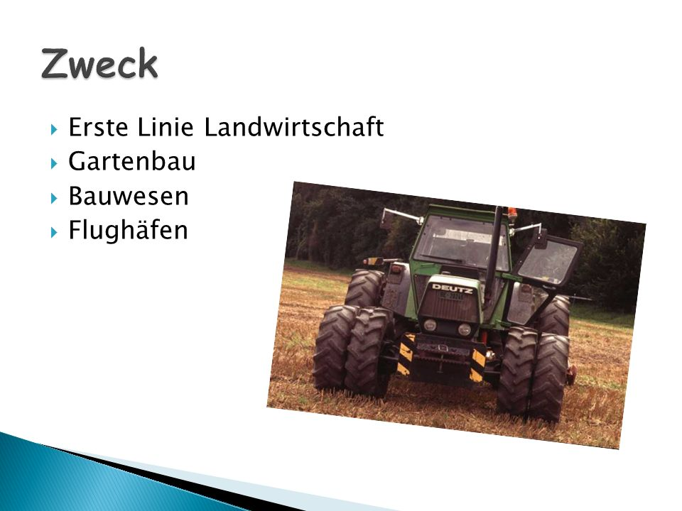 Erste Linie Landwirtschaft Gartenbau Bauwesen Flughäfen