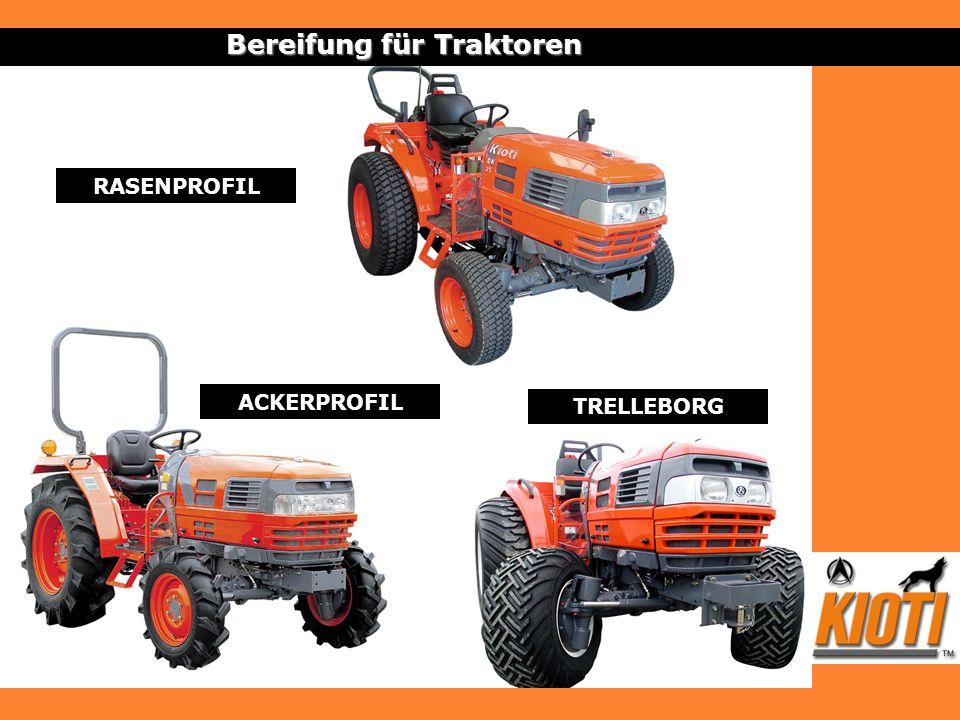 Bereifung für Traktoren RASENPROFIL TRELLEBORG ACKERPROFIL