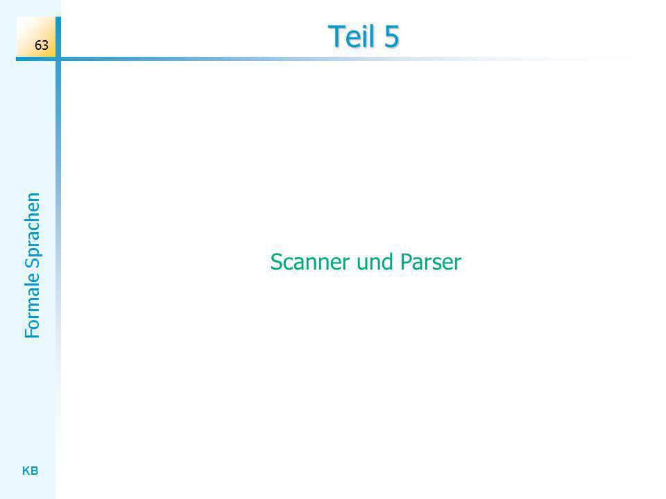 KB Formale Sprachen 63 Teil 5 Scanner und Parser