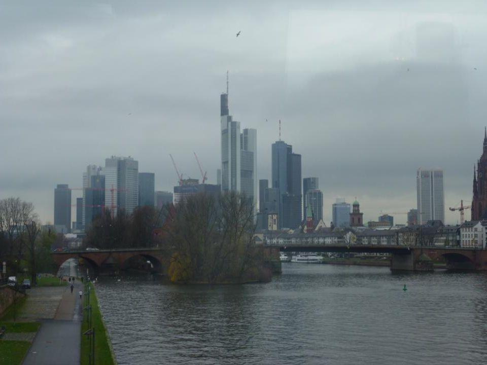 Die Stadt Frankfurt hat noch versucht, das Erbe der Renovierung erhalten.